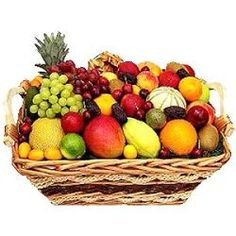 10 Kg. Fresh Fruits in Basket