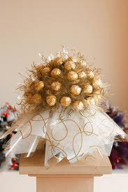24 Ferrero rocher Chocolates in Bouquet