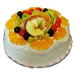 Half Kg Fresh fruit Cake