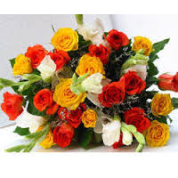 15 assorted Roses Bouquet