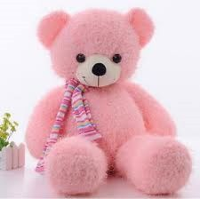 Teddy 2 Feet in Pink