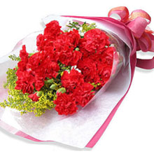 12 Carnations Bouquet