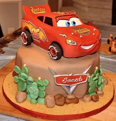 1 kg Chocolate Car Cake