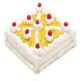 Pineapple/Strawberry Cake 2 Kg
