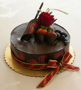 5 Star DARK Chocolate Cake One�Kg