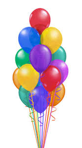 15 Helium Gas Filled Balloons
