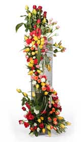 Large Arrangement-3 to 4 feet- of Mix flowers