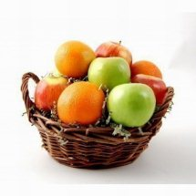 1 Kg. Fresh Fruits in Basket