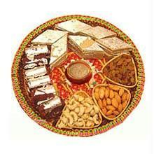 Exclusive Diwali Puja with 250 Grams Sweets and 250 grams dry Fruits