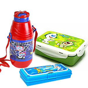 Water bottle Tiffin Box Pencil Box