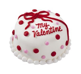 5 Star Cake with MY VALENTINE ICING One�Kg