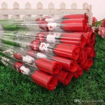 Single wrapped 20 stems roses