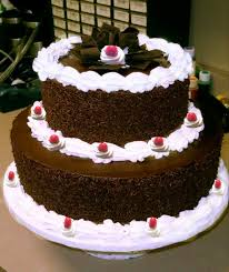 2 Tier black forest Cake 2 Kg