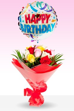 Same Day Delivery Of Balloons Flowers Cakes To BHOPAL India Send