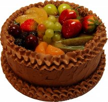 Two Kg Chocolate Fruit Cake