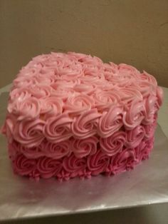 Heart Ombre cake 1 kg