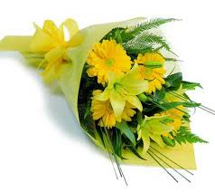 Yellow Assorted Flowers Bouquet